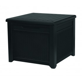 Cutie depozitare tip scaun gri Keter Cube 208 L