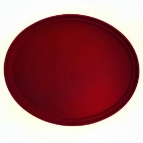 Tava ovala red raspberry Cambro Camtread 73.5 x 60 cm