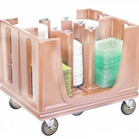 Carucior crem reglabil transport vase Cambro
