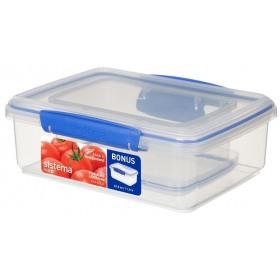Set 2 cutii depozitare alimente Sistema KLIP IT 2L si 1L