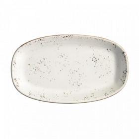 Platou oval portelan Bonna Grain 34x19 cm