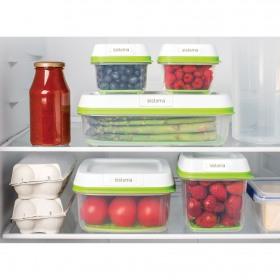 Set 5 cutii depozitare alimente Sistema FreshWorks