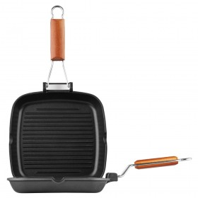 Tigaie grill Electric Fest 28 cm