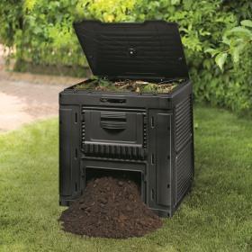 Compostor negru Keter Eco 470 L