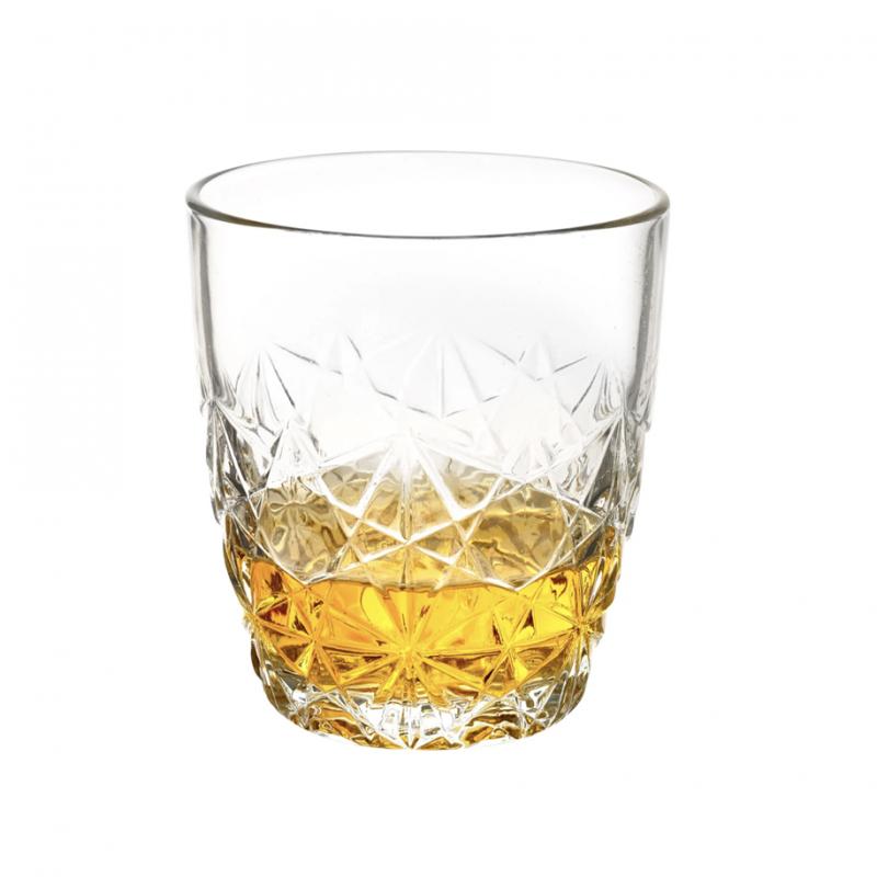 Set 6 pahare whisky Bormioli Dedalo 260 ml