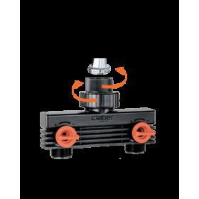 Distribuitor dublu sens pentru programator irigatii 3/4 (20-27 mm) Claber - 915890000