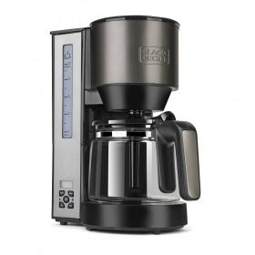 Cafetiera programabila 12 cupe Black+Decker 1.25 L 1000 W