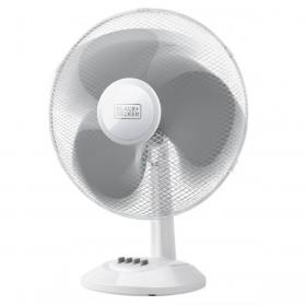 Ventilator birou alb Black+Decker 40 W