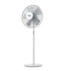 Ventilator alb cu picior Black+Decker 60 W