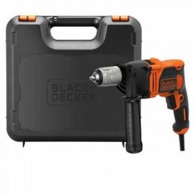 Masina de gaurit cu percutie Black+Decker 850W + Kitbox - BEH850K
