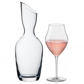 Set 2 pahare vin 465 ml si carafa 1 L Bormioli Inalto Invito
