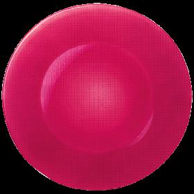 Platou sticla roz soft cherry Bormioli Inca 31 cm