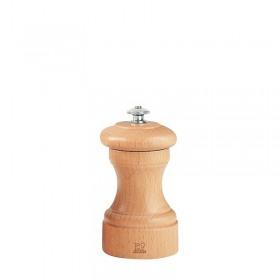 Rasnita pentru sare Bistro  din lemn 10 cm natural - Peugeot