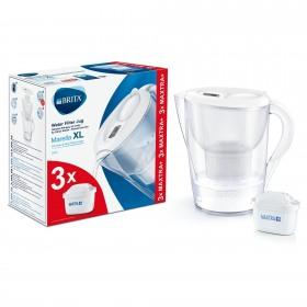 Cana filtranta Marella XL Starter pack 3.5 L (white) + 3 filtre Maxtra+  - Brita