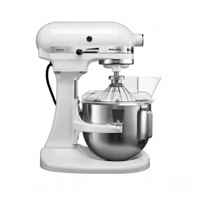 Mixer de bucatarie professional heavy duty white KitchenAid 4.8 L