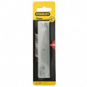 Lame segmentate 18mm - 10 buc Stanley  - 0-11-301