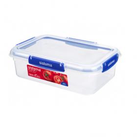 Cutie alimentara rectangulara cu capac Sistema KLIP IT Plus 2.2 L
