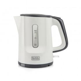 Cana fierbator electric alb Black+Decker 1.7 L 2200 W