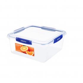 Cutie alimentara rectangulara cu capac Sistema KLIP IT Plus 5.5 L