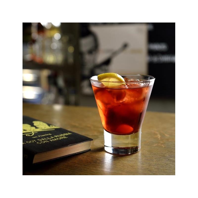 Set 4 pahare whisky Bormioli Ypsilon 340 ml
