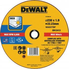 Disc DeWalt 230mm 1.9mm taiere inox - DT43909
