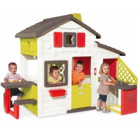 Casuta pentru copii cu bucatarie Smoby Friends