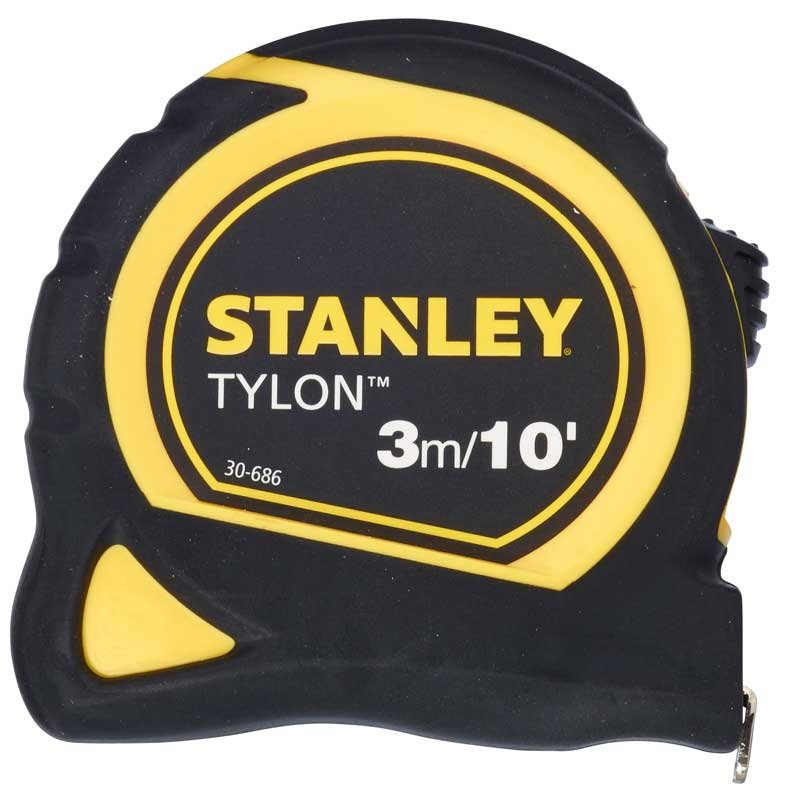 Ruleta Stanley 0-30-686 Tylon 3m cauciucata