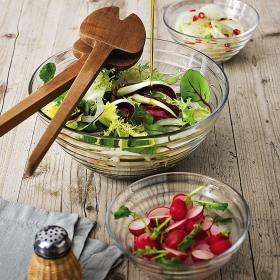 Bol salata sticla Bormioli Viva 20 cm
