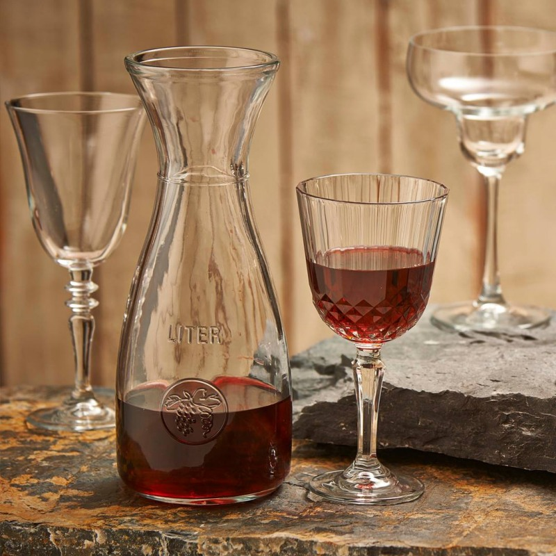 Carafa sticla Pasabahce Bacchus 1 L