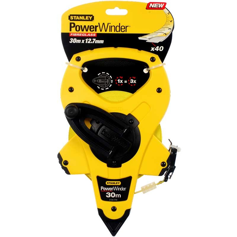Ruleta Stanley Power Winder 30m - 2-34-772