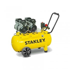 Compresor Silent 50L Stanley 2.6CP / 2000W 8Bar 270L/min 68dB - SXCMS2652HE