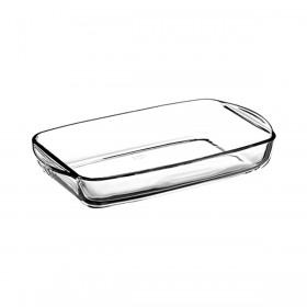 Vas termorezistent rectangular Pasabahce Borcam 2 L