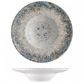 Farfurie paste adanca portelan Bonna Luca Mosaic 28 cm