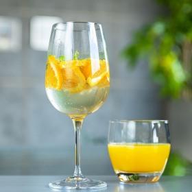Set 8 pahare vin si apa Bormioli Spazio 500 ml/Essenza 360 ml