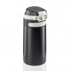 Termos inox negru Leifheit Flip 350 ml