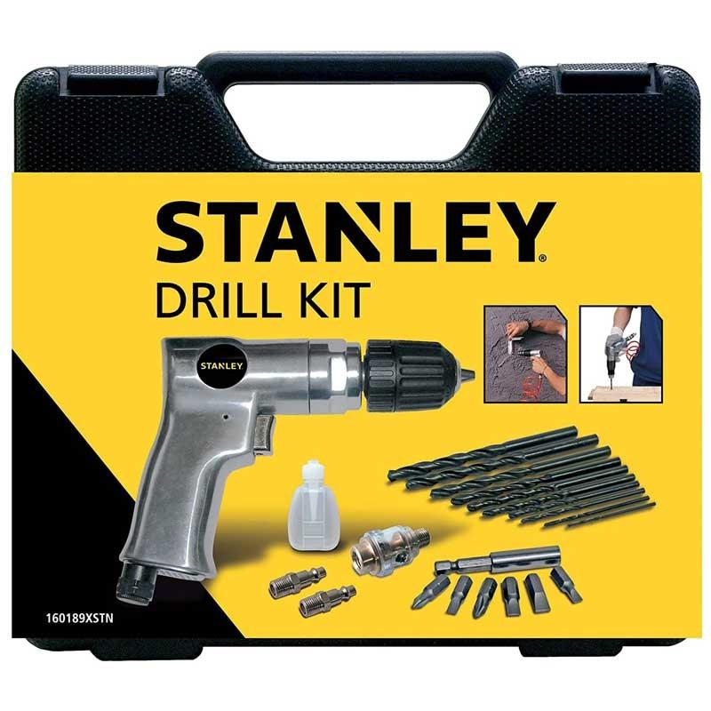 Masina de gaurit pneumatica cu accesorii Stanley® - 160189XSTN