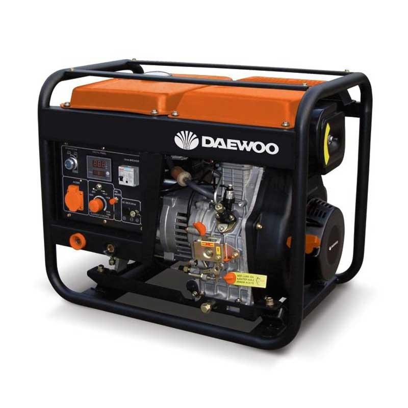 Generator Daewoo - GDAW190AC cu invertor sudura 2kW 190Ah