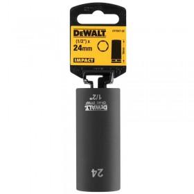 "Cheie tubulara de impact lunga 24 x 27mm 1/2 "" DeWALT®- DT7557"