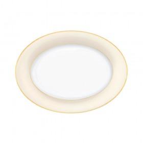 Platou oval portelan Ionia J'adore 33 cm