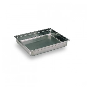 Container inox Bourgeat GN 2/1 H 2 cm