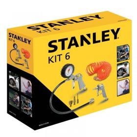Kit 6 accesorii compresor Stanley® - 9045717STN