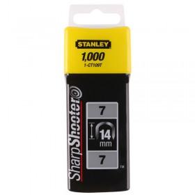 Capse Stanley® 1-CT109T - cabluri 14mm Tip 7 CT100 - 1000 buc