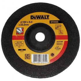 Disc polizare metal 180mm x 6mm DeWALT DT3422