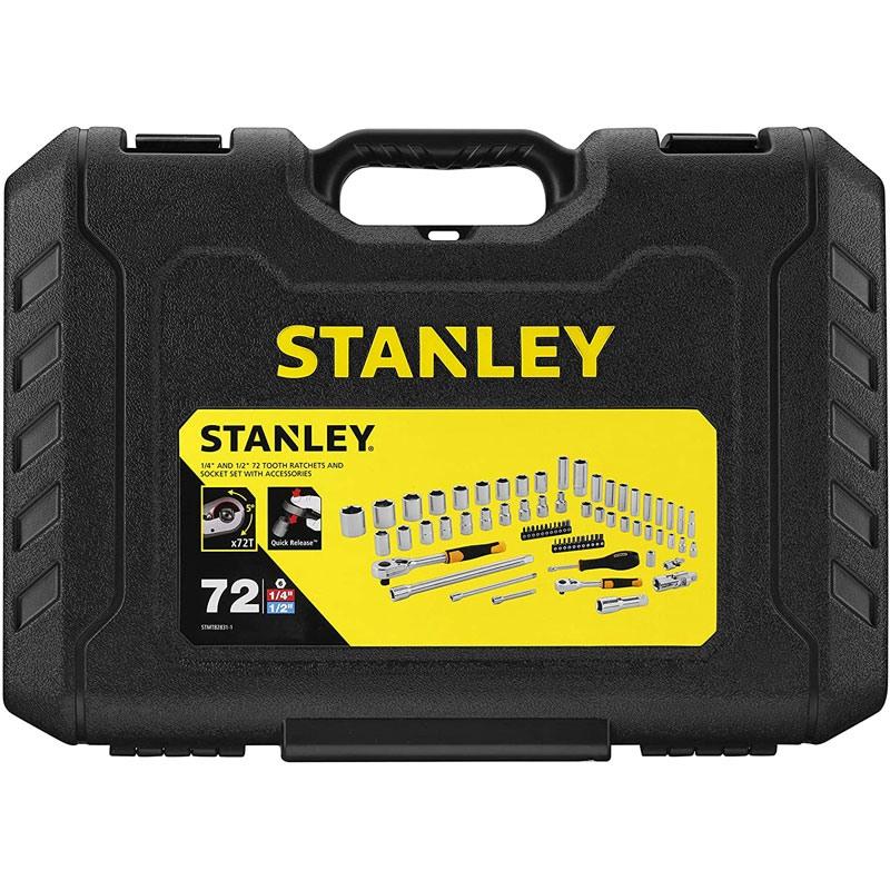 "Set tubulare 1/4"" 1/2"" - 72 piese Stanley STMT82831-1"