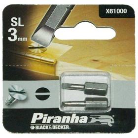 Set 2 Biti SL 3 Black+Decker X61000