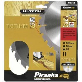 Disc Black+Decker X13145 pentru lemn  TCT 190x16mm - 40T