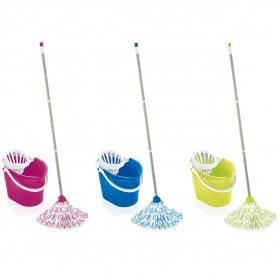 Set mop diverse culori Leifheit Classic 12 L