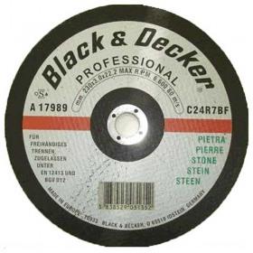 Disc abraziv Black+Decker A17989 230mm pentru taiere piatra