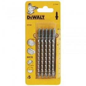 Set 5 lame DeWALT DT2164 HCS fierastrau pendular lemn