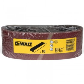 Benzi slefuire DeWALT DT3304 75x533mm 10 buc G100